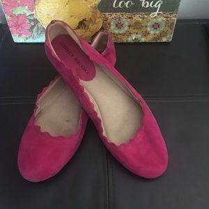 🌸Aubrey Brooke Hot Pink Flats- Sz 8.5